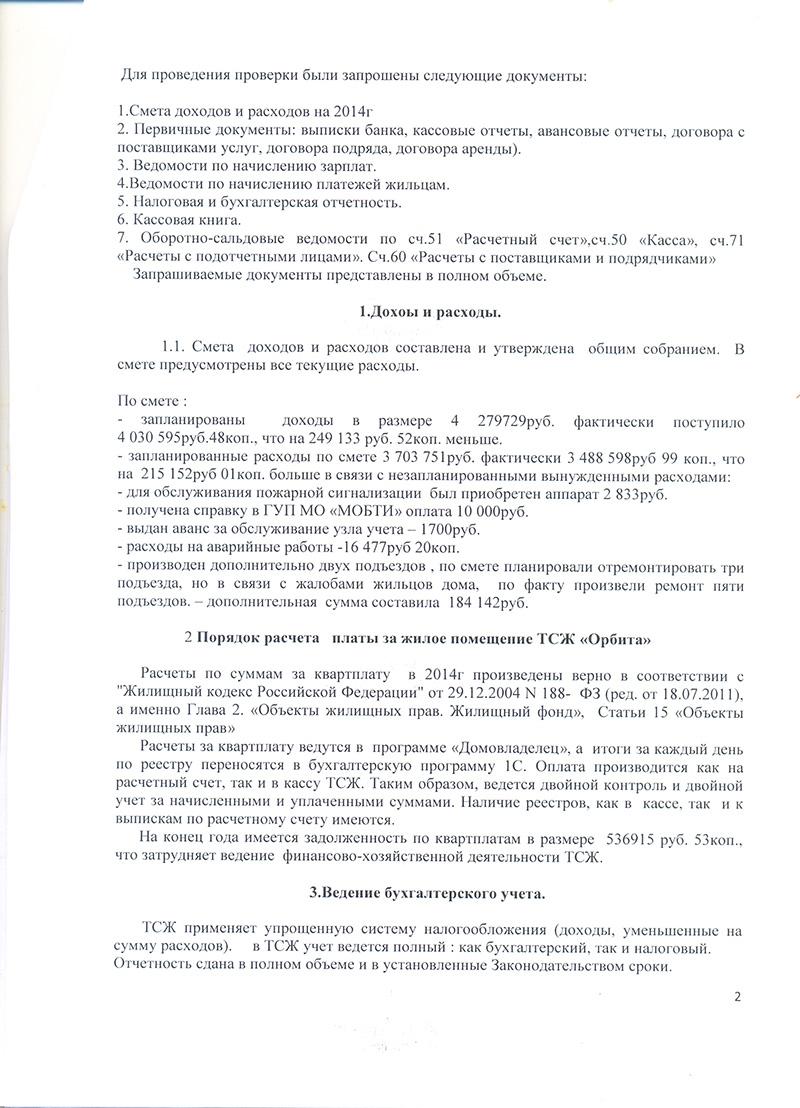 Отчет фин д ТСЖ 2015-4